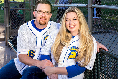 Engagement shoot for Heather Wood and Scott Brandt at Rusch Park on April 28, 2014