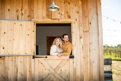 Engagement shoot for Heather Wood and Scott Brandt at Amador Cellars in Plymouth, CA on March 22, 2014