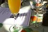 Prewedding activities for Rachel Lollar and Brad Spencer: the bridesmaids' luncheon at Cafe Fontana