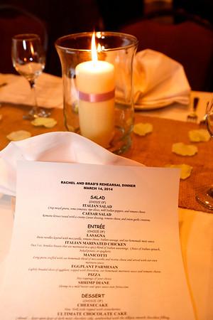Prewedding activities for Rachel Lollar and Brad Spencer: The rehearsal dinner at Colletta's (Photo by Tony Lollar)