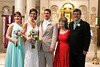 Wedding day for Rachel Lollar and Brad Spencer
