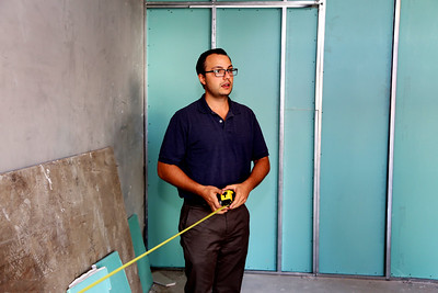 Ali Youssefi of CFY Development oversaw the construction of the Warehouse Artist Lofts on R Street and the installation of local art projects. (Photo by Joan Cusick)