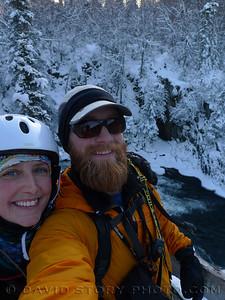 Russian River Falls, Cooper Landing, AK.