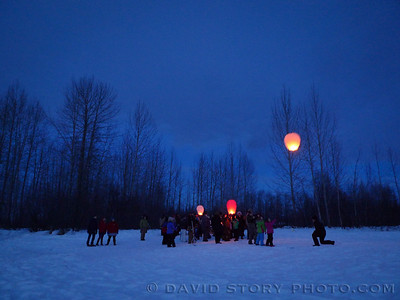 Library luminaries. Talkeetna, AK.