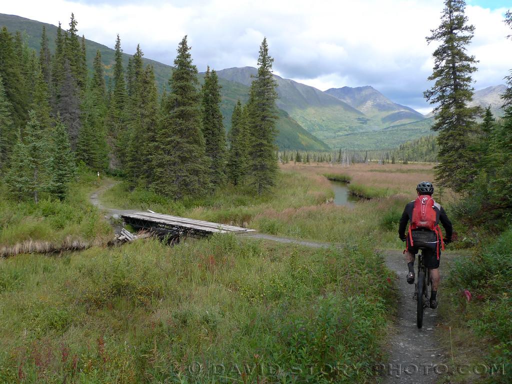 Juneau Creek, Ressurection Pass Trail, Cooper Landing, AK.