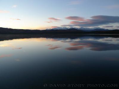 Engineer Lake, Kenai National Wildlife Refuge.