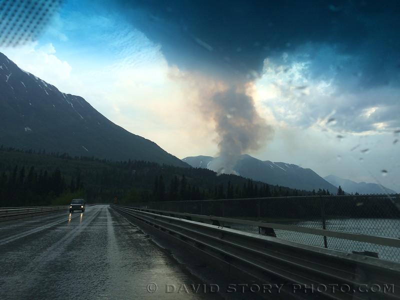Stetson Creek Fire. Cooper Landing, AK.