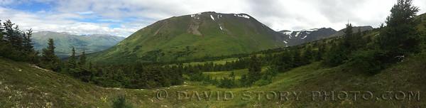 Right Mountain. Cooper Landing, AK.