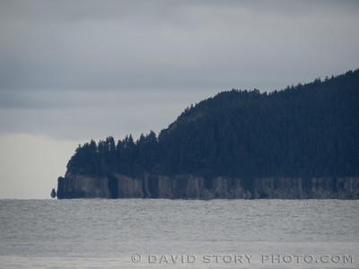 Fata morgana. Resurrection Bay, AK.