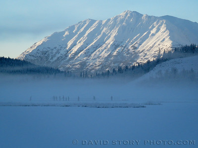 Tern Lake hockey. Upper Kenai, AK.