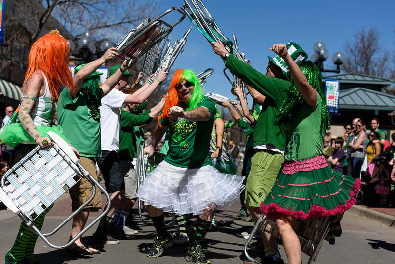 Worlds Shortest St. Patricks Day Parade