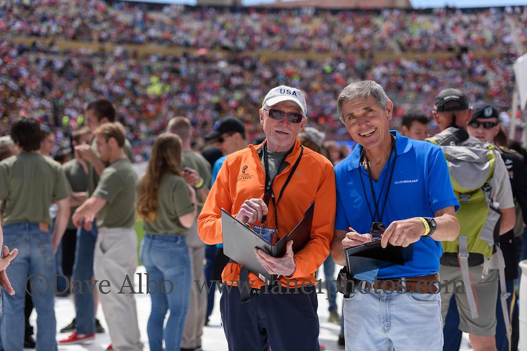 Verne and Tom, drug testers