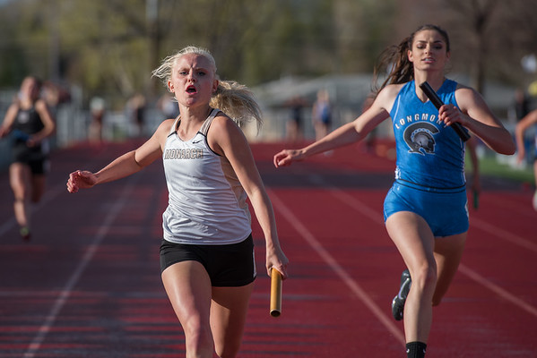 4x100, Chloe wins