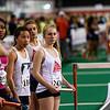 Girls, Sprint Medley Relay #1, waiting
