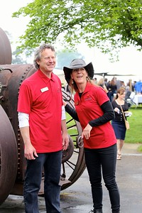 Brian Miller and Dierdre Mueller, founders of the Amador Four Fires Festival
