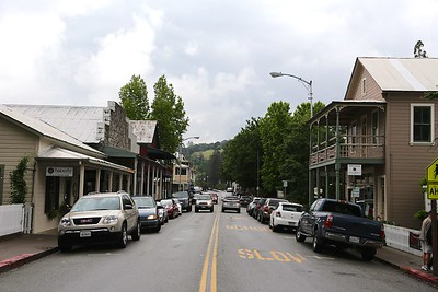 Downtown Sutter Creek in Amador County