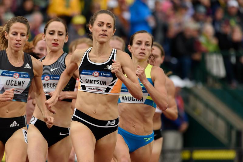 1500 meter final, women