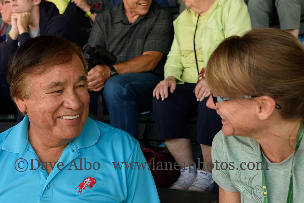 Patty and Billy Mills exchange 10k stories