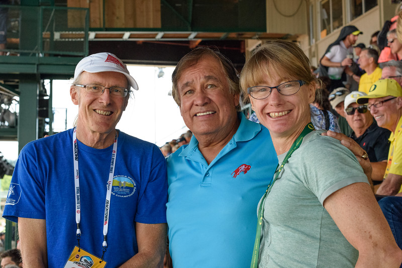 Dave,  Billy Mills, Patty