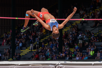 Heptathlon HIgh Jump