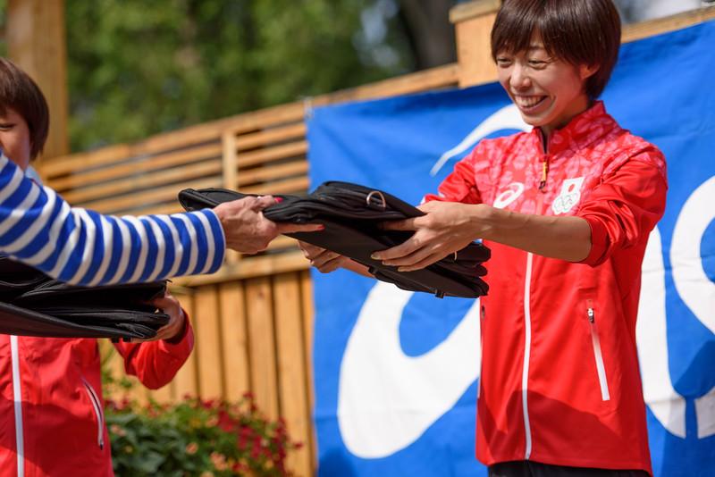 Japanese Olympian Sendoff