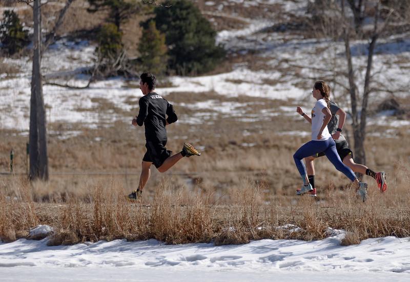 Ric Rojas Running workout, January 24