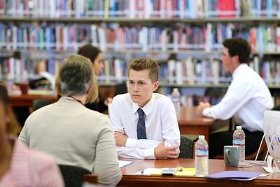 Whitney student Trever Gibbs