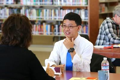 Whitney student Aramy Truong plans to study robotics.