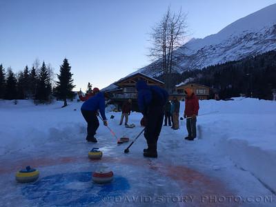 2017 02 11: Winter Rendezvous curling.
