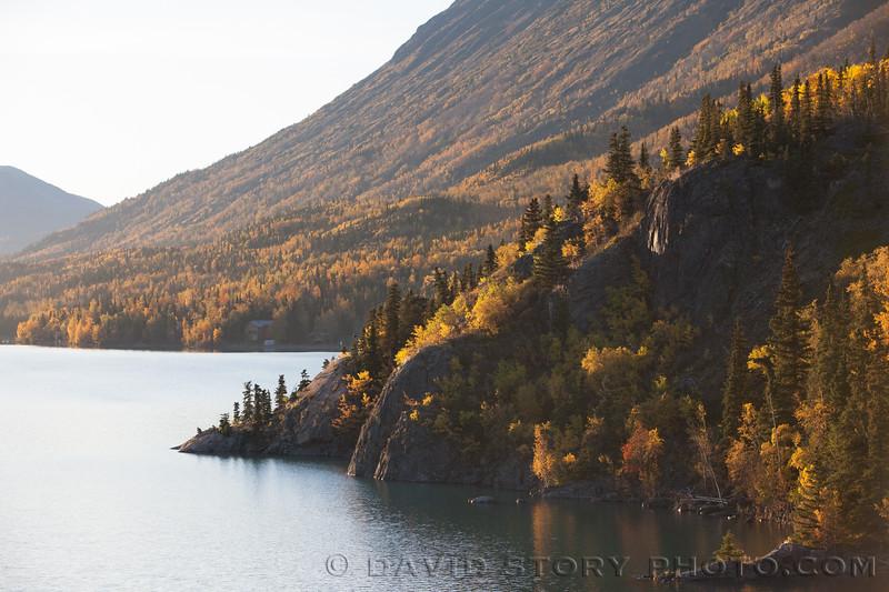2017 09 30: Fall on Kenai Lake, AK.