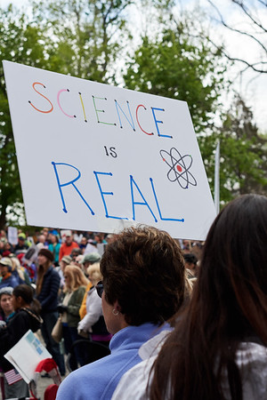 Earth day Science Protest and March