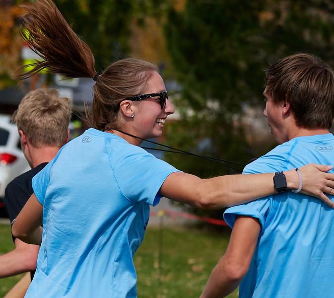 High School Cross Country Regionals - Ralston Valley Celebration