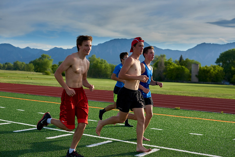 Ric Rojas Running workout