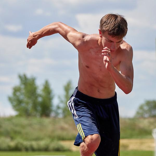 400 meter time trial