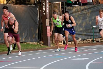 Open 800 meters