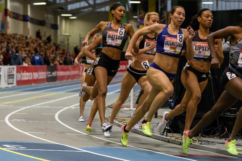 800 meters women