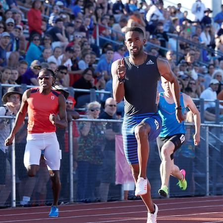Elite 100 meters