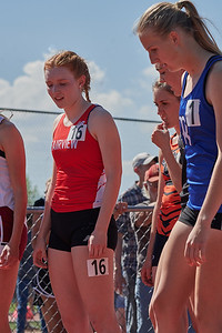 Vanessa, 800 meters