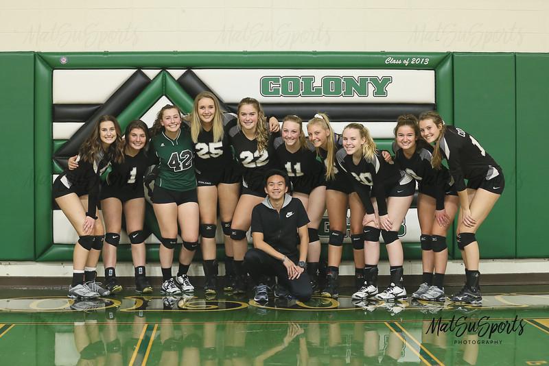 Colony V Volleyball