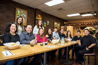 It's a family business at La Placita Mexican Restaurant. (February 2018 edition of Comstock's magazine)