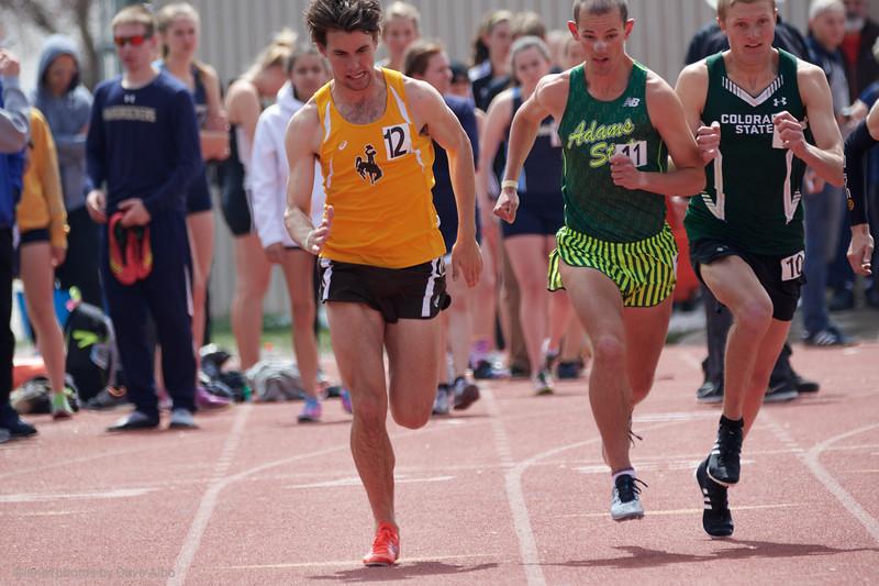 1500 meters