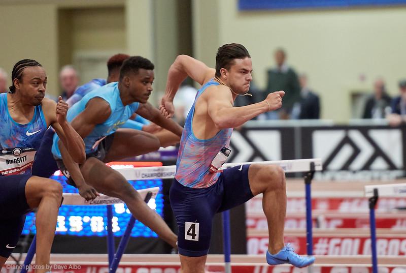 60 meter hurdles semi final