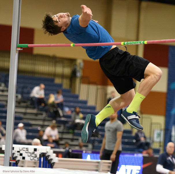 Heptathlon high jump