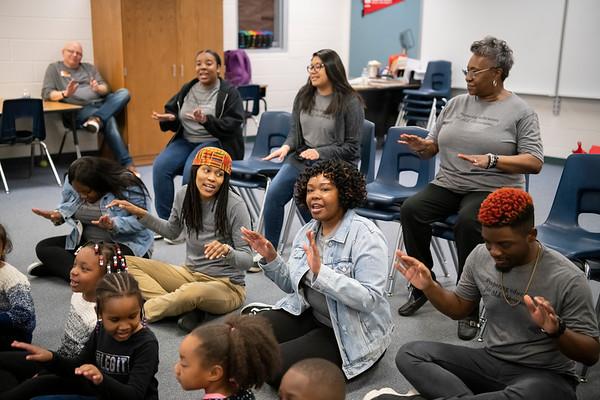 20190405 WSSU Appalachian  State Middle Fork Academy  Student Teachers 026Ed