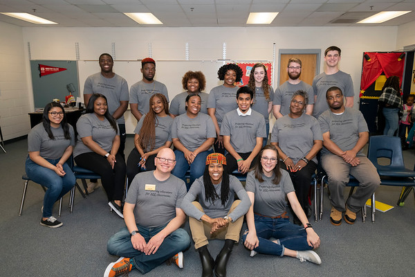20190405 WSSU Appalachian  State Middle Fork Academy  Student Teachers 001Ed