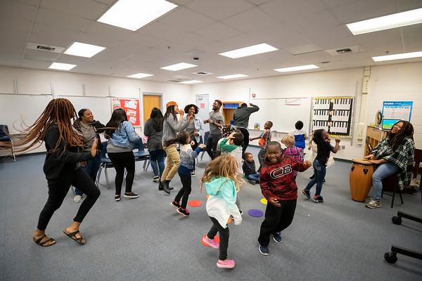 20190405 WSSU Appalachian  State Middle Fork Academy  Student Teachers 005Ed