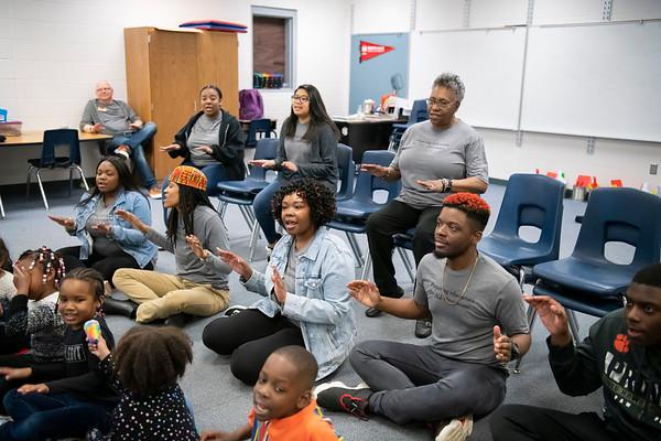 20190405 WSSU Appalachian  State Middle Fork Academy  Student Teachers 028Ed
