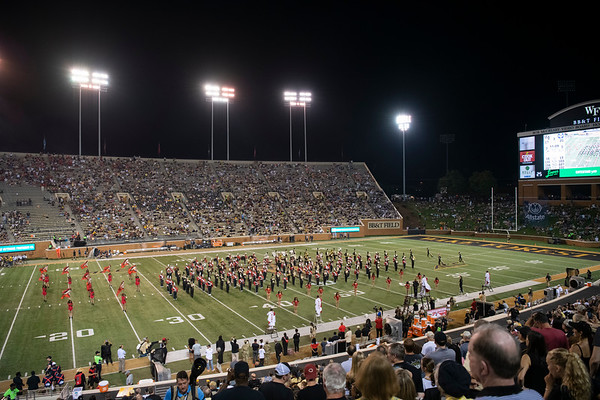 20190830 Band at WFU Game Preview 019