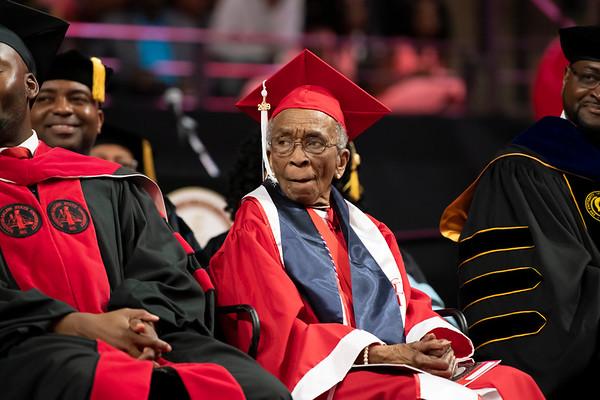 20190510 Commencement 1949 Graduate Mrs Elizabeth Barker Johnson 029Ed