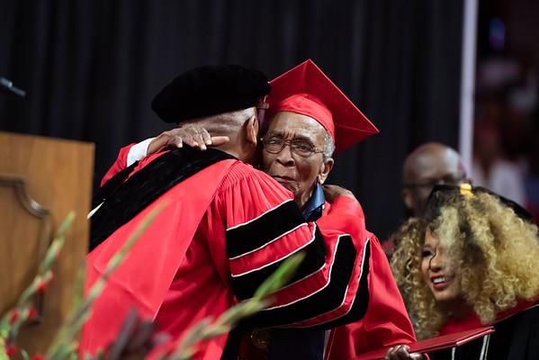 20190510 Commencement 1949 Graduate Mrs Elizabeth Barker Johnson 080Ed